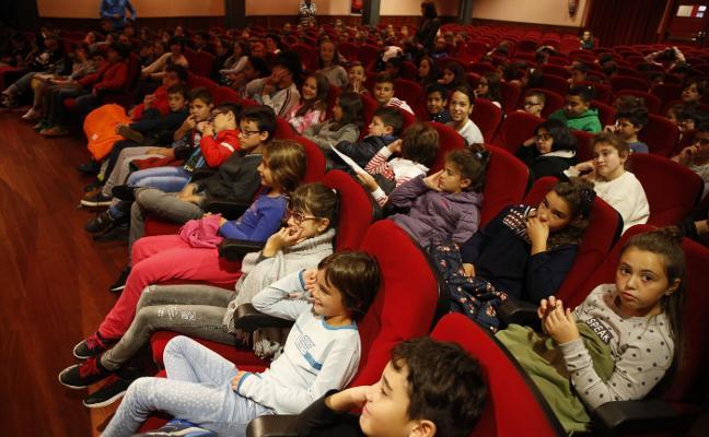 Los alumnos de San Martín, en el Consejo Escolar del Reciclaje
