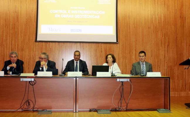 Jornada sobre las obras geotécnicas en el campus de Mieres