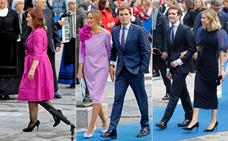 Así fue la alfombra azul de los Premios Princesa 2018