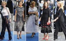 ¿Quién es la más elegante de la alfombra azul de los Premios Princesa?