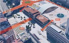 El Plan de Movilidad transformará la estación de Oviedo en el «intercambiador de Asturias»