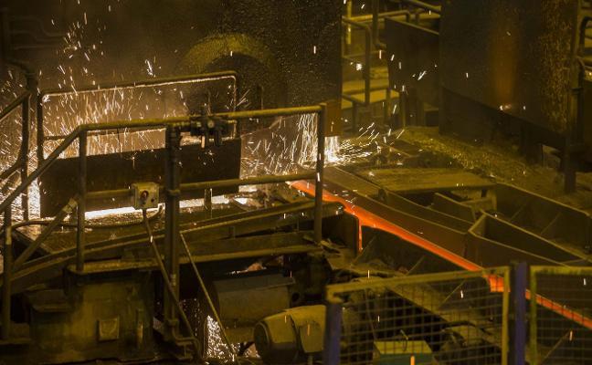 Arcelor cifra en 180 millones de euros su inversión en Asturias durante 2018