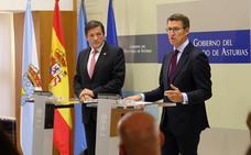 Fernández y Feijóo alertan de más deslocalizaciones si no se abarata la factura eléctrica