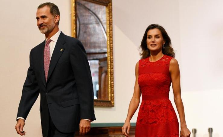 Los looks de la Reina Letizia en los Premios Princesa