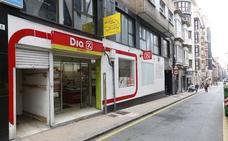 Intento de robo y persecución en un supermercado de Gijón