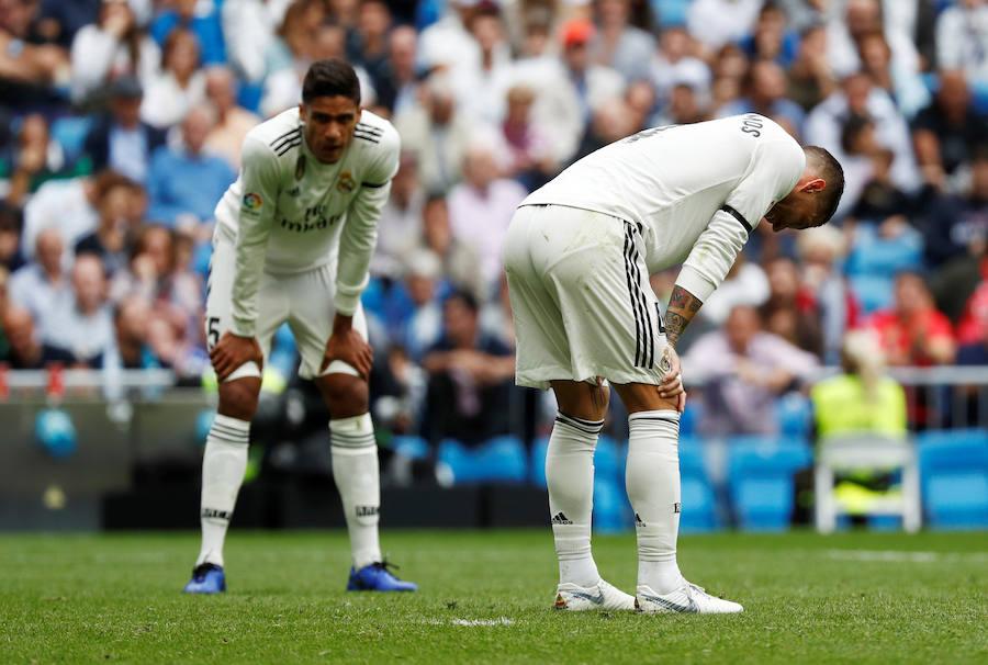 Las mejores imágenes del Real Madrid-Levante