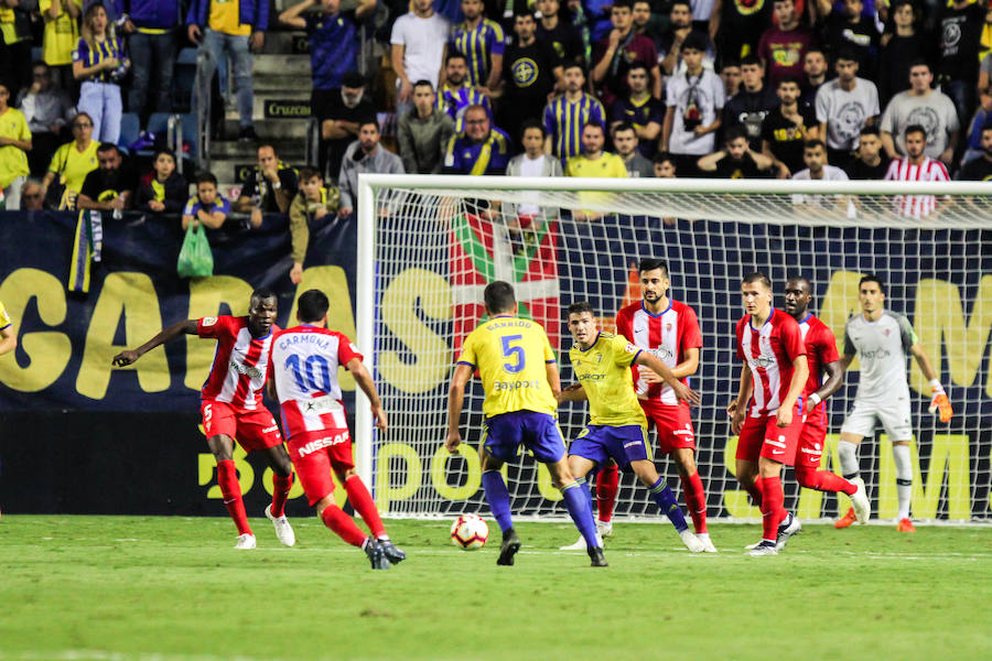 Cádiz 0-0 Sporting, en imágenes