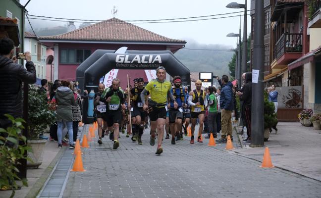 El trail del Gamonéu reúne a 160 corredores