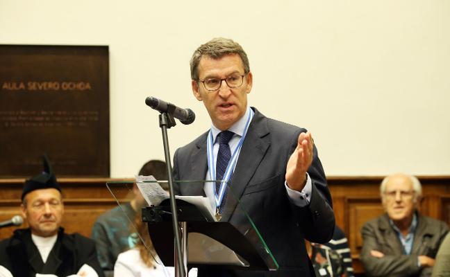 Feijóo pide al Gobierno «responsabilidad» en su política industrial y energética