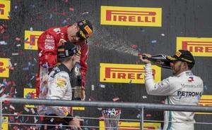 La resurrección de Räikkönen retrasa el alirón de Hamilton