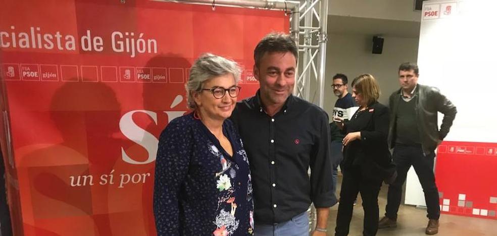 El candidato del PSOE a la Alcaldía de Gijón se elegirá el próximo domingo entre Ana González y José Ramón Tuero