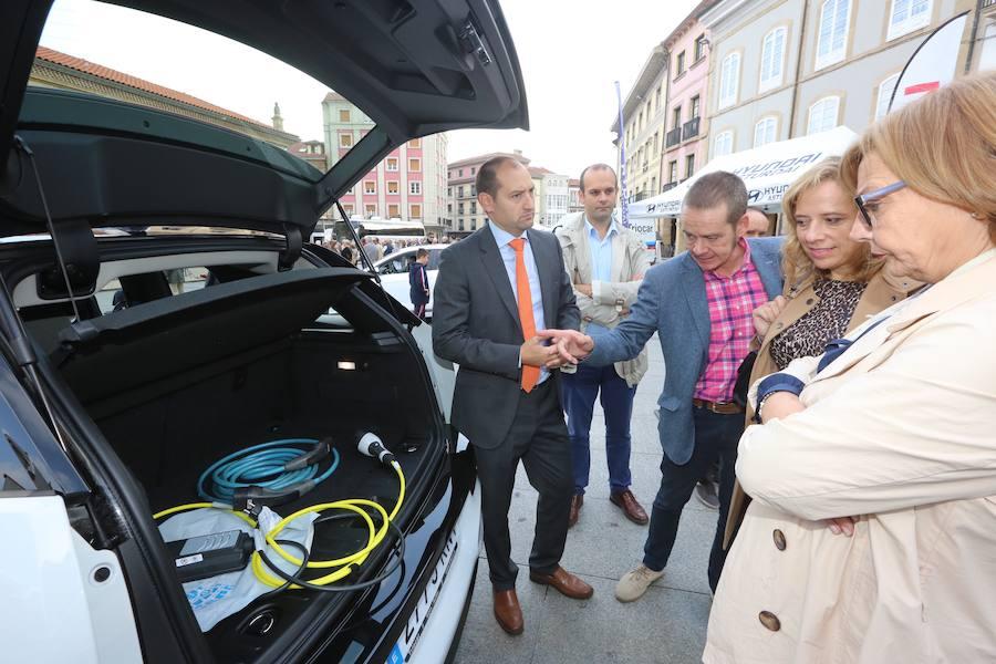 Una nueva normativa fomentará los puntos de recarga para los vehículos eléctricos en Avilés