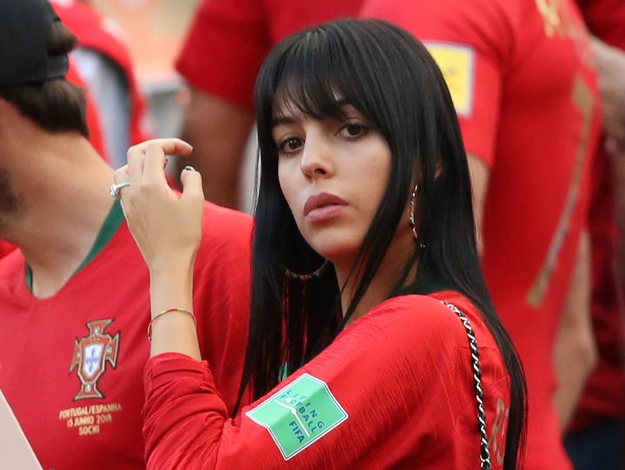 Georgina Rodríguez sorprende con su nuevo look