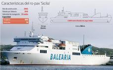 El 'Sicilia', el barco que unirá Gijón y Nantes