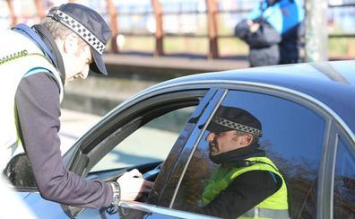 Detenido por conducir sin puntos