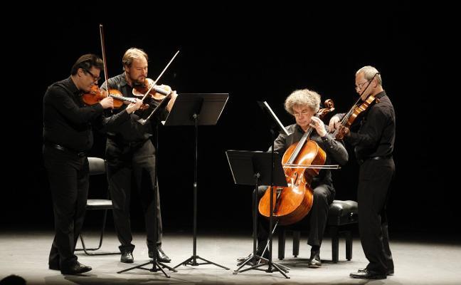 El Cuarteto de Leipzig enamora en Gijón