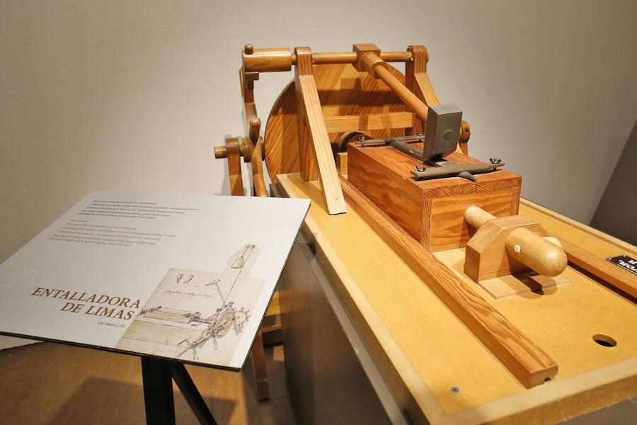 La genialidad de Leonado da Vinci se muestra en Gijón