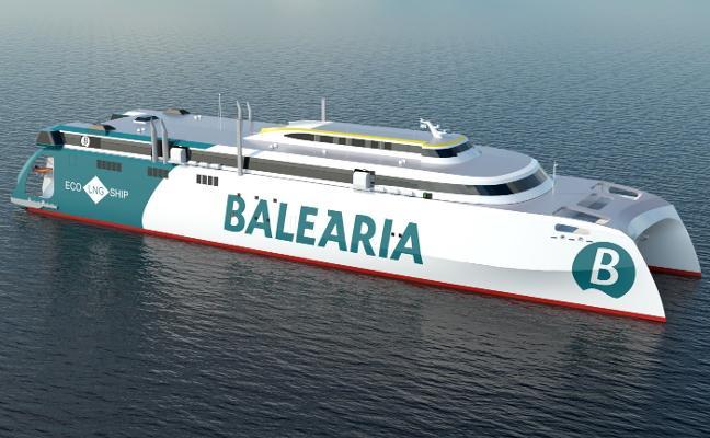 Balearia hará en Gijón el mayor catamarán de alta velocidad con gas del mundo