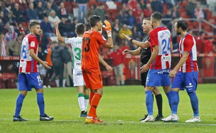 Las mejores imágenes del Sporting - Córdoba (0-0)