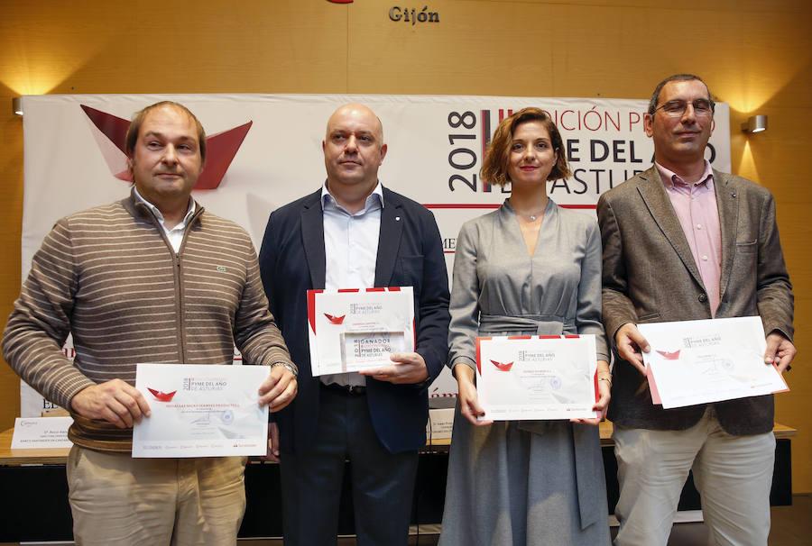 Entrega de los Premios Pyme 2018 Asturias