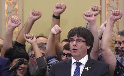 El nuevo partido de Puigdemont nace apelando a desobedecer para llegar a la secesión