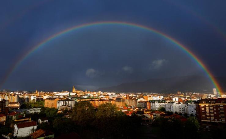 Así ha afectado el temporal a Oviedo