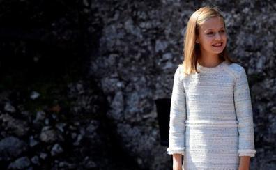 Leonor, Princesa de Asturias, cumple trece
