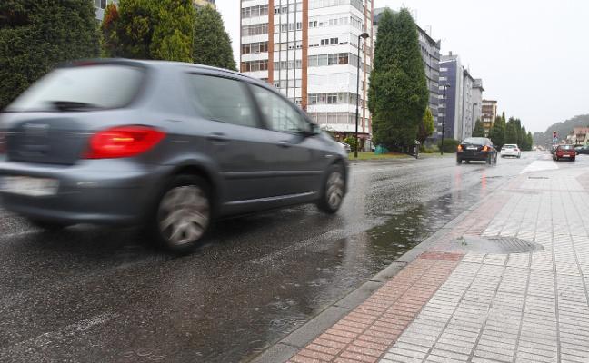 El Plan de Movilidad de Castrillón propone instalar un radar en El Campón para evitar accidentes