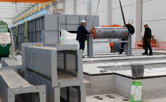 La plantilla de Asla confía en recuperar la producción y los empleos en 2019