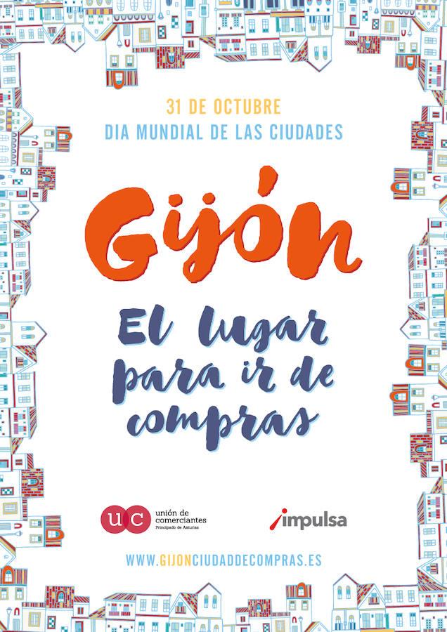 Gijón una ciudad para ir de compras