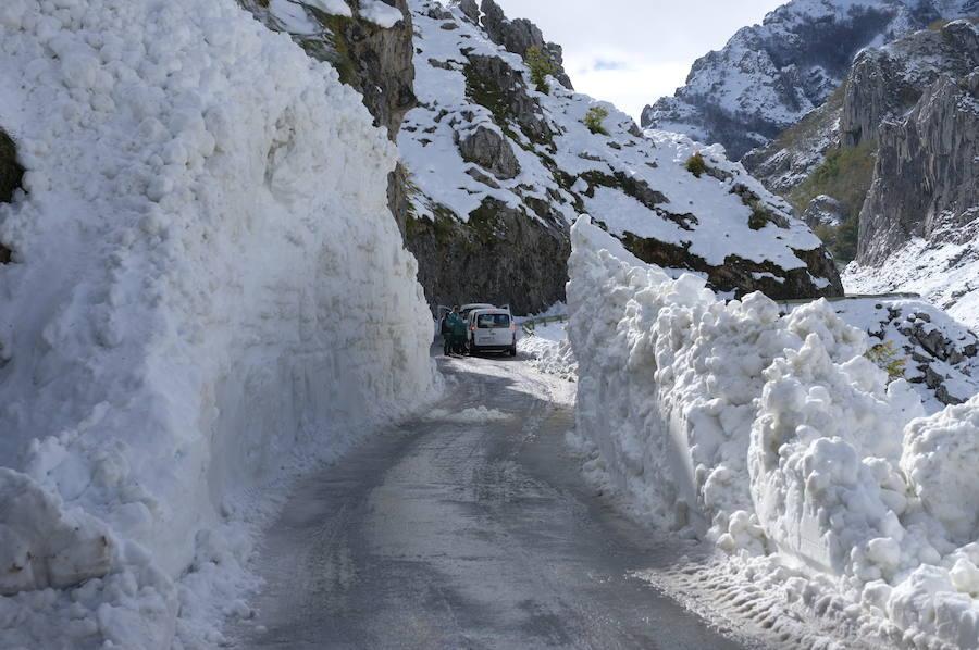 Asturias trata de reponerse tras tres días de ola de frío