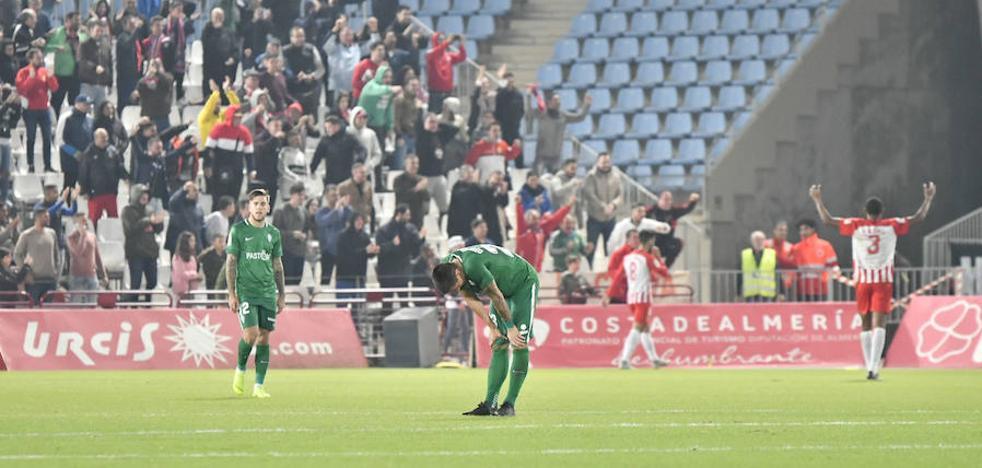 Injusta derrota del Sporting en Almería