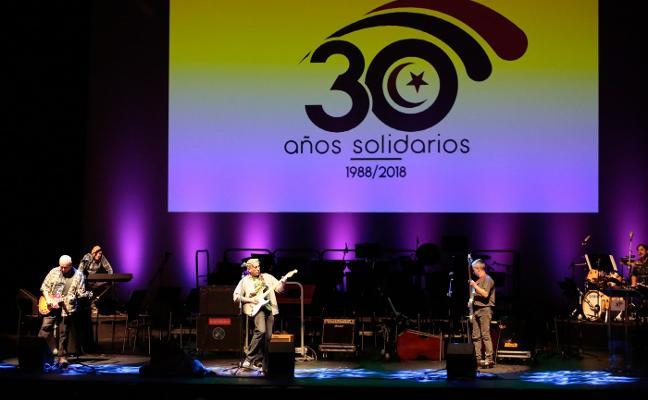 Rozalén, Los Berrones y Marisa Valle Roso, unidos por el pueblo saharaui