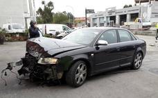 María Jesús Otero choca con su coche en Llanes