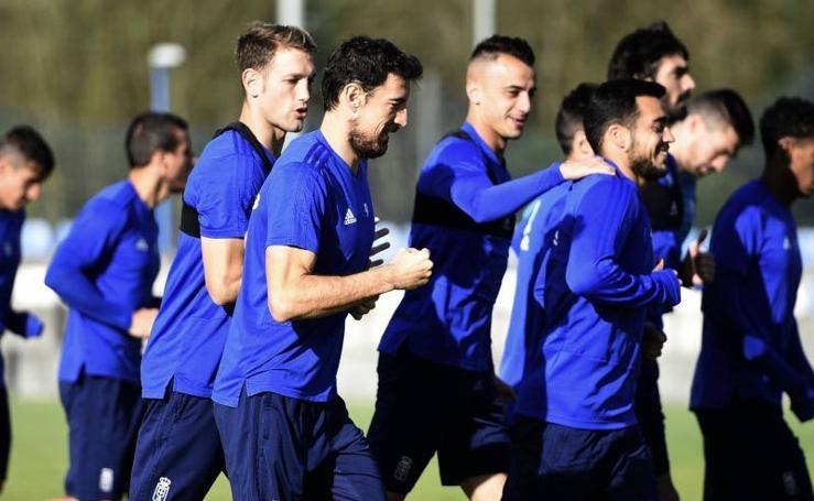 Entrenamiento del Real Oviedo (01-11-2018)