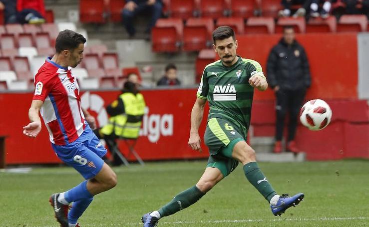 Las mejores imágenes del Sporting - Eibar