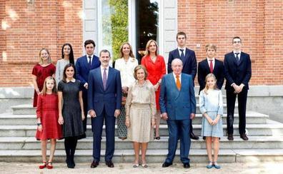 La Infanta Cristina y sus hijos, en la celebración de los 80 años de la Reina Sofía