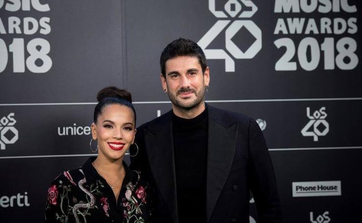 El glamour posa en la alfombra verde de LOS40 Music Awards 2018