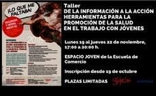 Juventud Gijón organiza un taller sobre promoción de la salud en el trabajo con jóvenes