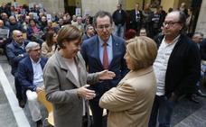 Xixón Sí Puede e IU emplazan a los socialistas a «presionar» a Fomento con el plan de vías