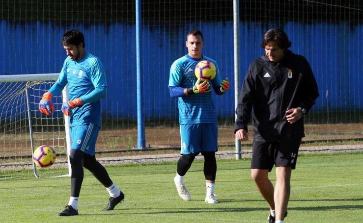 Entrenamiento del Real Oviedo (03-11-2018)