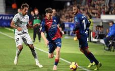 Molina impide la victoria del Huesca con un gol en el 91