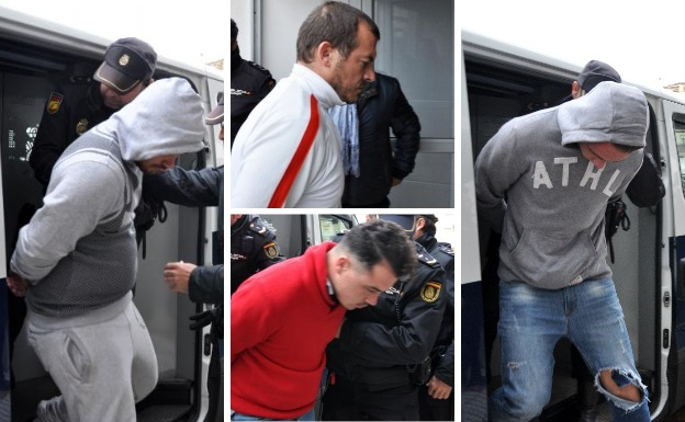 Prisión provisional para los cuatro acusados por la muerte del guardia civil en Don Benito