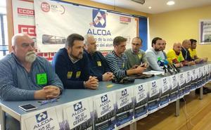 Los sindicatos piden el día 8 una manifestación «histórica» en defensa de los trabajadores de Alcoa