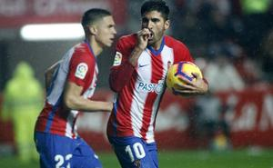 Sporting: Carmona salva los muebles en el último segundo (2-2)
