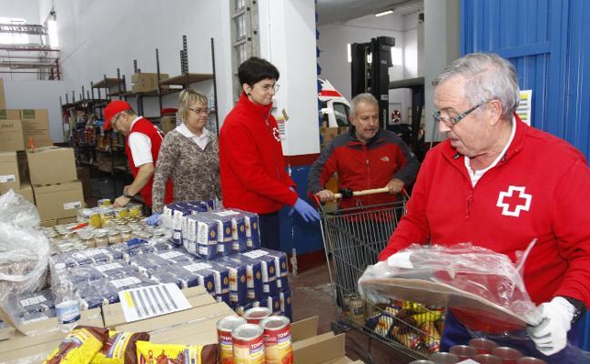 Cruz Roja reparte 42 toneladas de comida entre 436 familias en ocho días