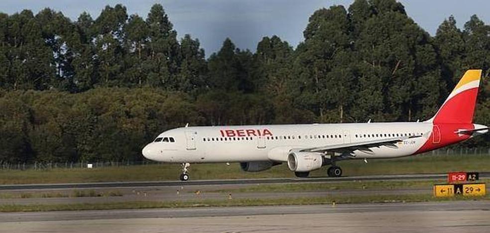 El temporal obliga a Iberia a cancelar dos vuelos en Asturias