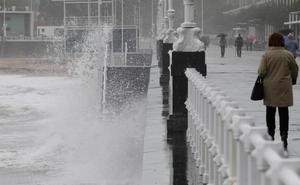 Asturias espera fuerte oleaje y vientos de 110 kilómetros por hora