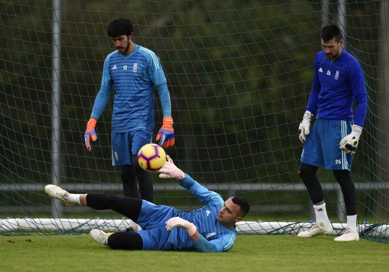 Entrenamiento del Real Oviedo (06-11)