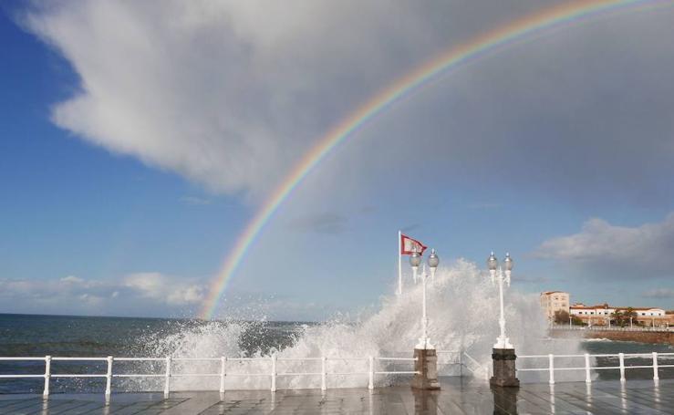 Asturias luce arcoíris